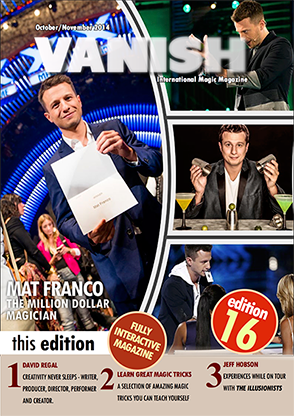 VANISH Magazine October|November 2014 - Mat Franco eBook DOWNLOAD