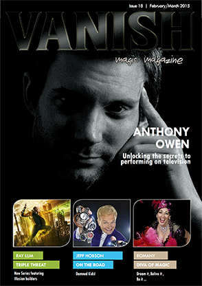 VANISH Magazine February/March 2015 - Anthony Owen - eBook