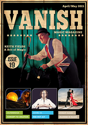 VANISH Magazine April/May 2015 - Keith Fields - eBook