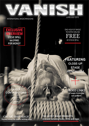 VANISH Magazine June|July 2015 - Steve Spill eBook DOWNLOAD