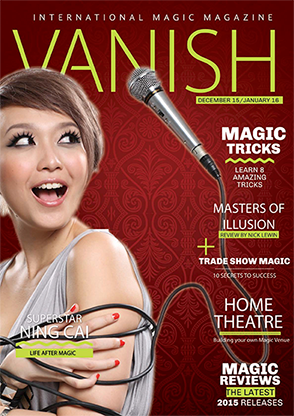 VANISH Magazine December 2015|January 2016 - Ning Cai eBook DOWNLOAD