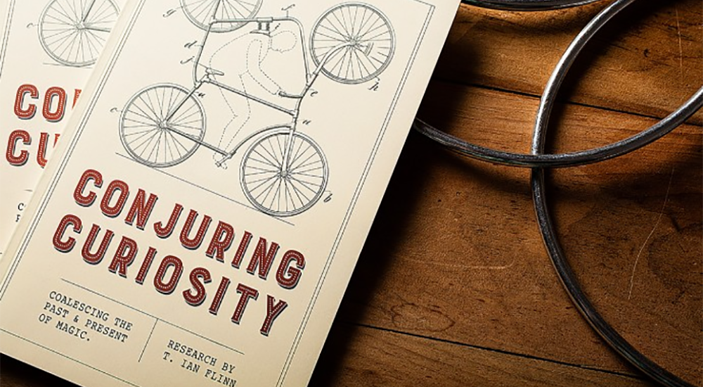 Conjuring Curiosity by Ian Flinn / Dan & Dave -Book