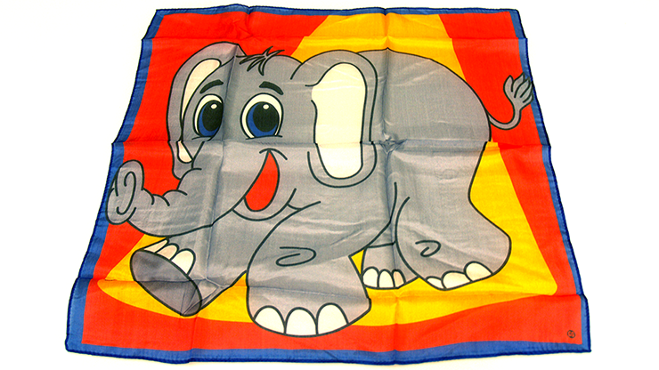 "Silk 18"" Elephant from David Ginn and Magic by Gosh - Trick"