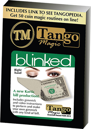 Tango Blinked Right Handed (Gimmick and Online Instructions) V0016