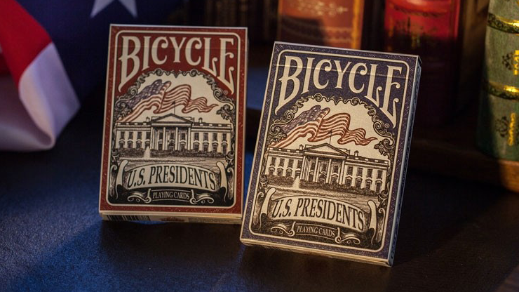 Bicycle U.S. Presidents Playing Cards (Democratic Blue) by U.S. Playing Card Company Poker Kartenspiel Spielkarten