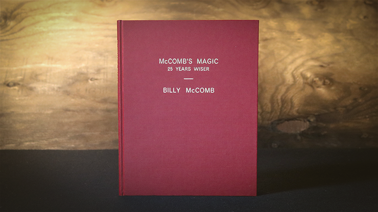 McComb's Magic 25 Years Wiser (Limited) - Libro de Magia