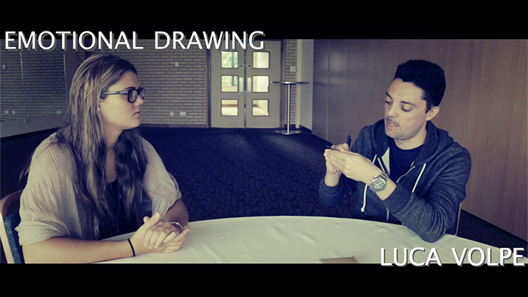 Emotional Drawing by Luca Volpe Streaming Video