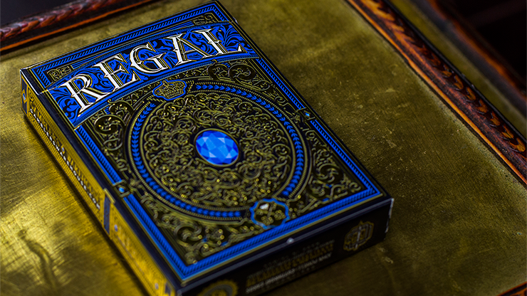 Regal Deck (Azul) - Gamblers Warehouse