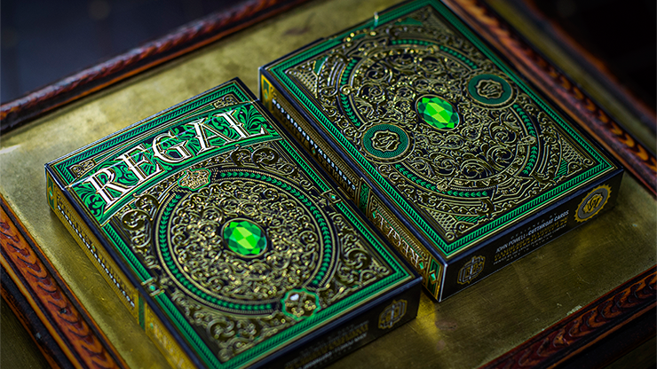 Regal Deck (Green) by Gamblers Warehouse
