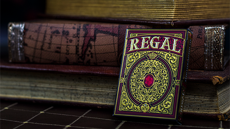Regal Deck (Red) by Gamblers Warehouse