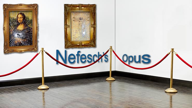 Opus (Mona Lisa) by Nefesch