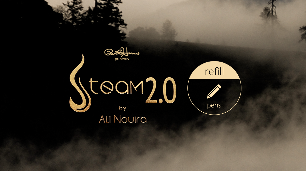 Paul Harris Presents Steam 2.0 Refill Pen (2 pk.) by Paul Harris - Trick