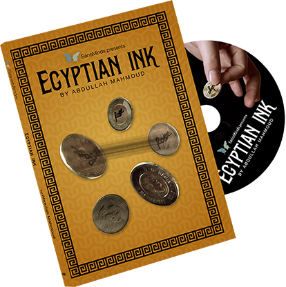 Egyptian Ink (DVD & Gimmick) - Abdullah Mahmoud & SansMinds Creative Lab - DVD
