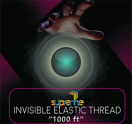 Invisible Elastic (1000 ft Spool) - Supreme Magic World