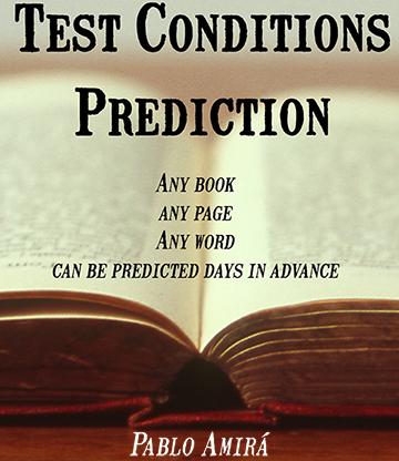 Test Conditions Prediction by Pablo Amira eBook DOWNLOAD