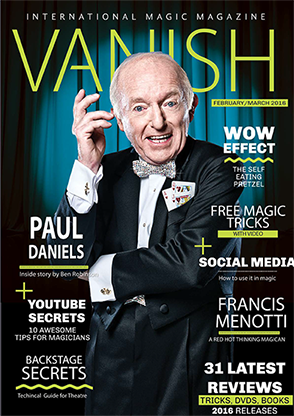 VANISH Magazine - January/Febuary 2016 - Paul Daniels eBook DOWN