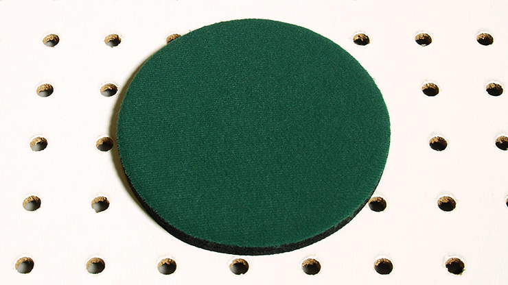 Round Mini Mat (Green) by Ronjo... MagicWorld Magic Shop