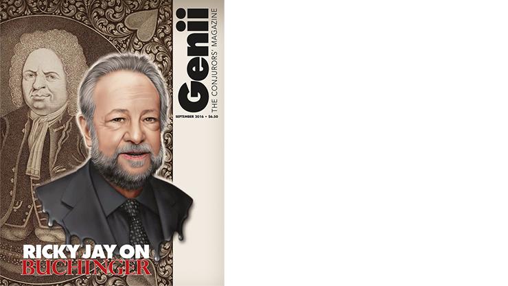 Genii Magazine September 2016 - Libro de Magia