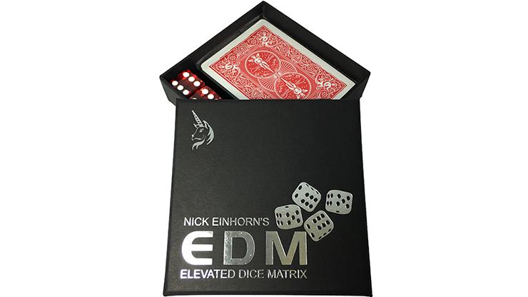 Elevated Dice Matrix (EDM / Red) by Nicholas Einhorn - Trick