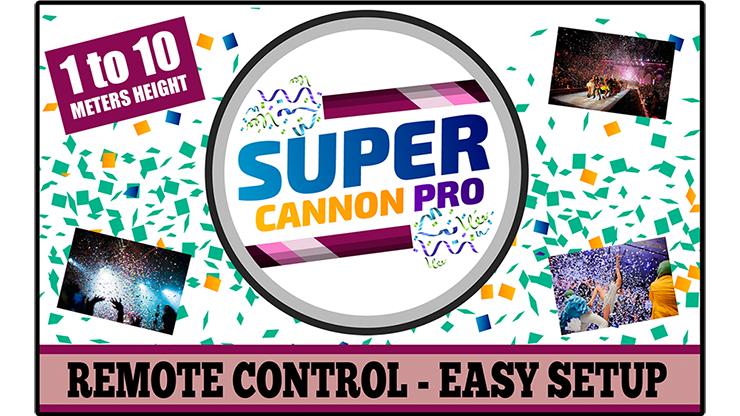 Super Cannon Pro - Aprendemagia (Accesorios e Instrucciones Online)
