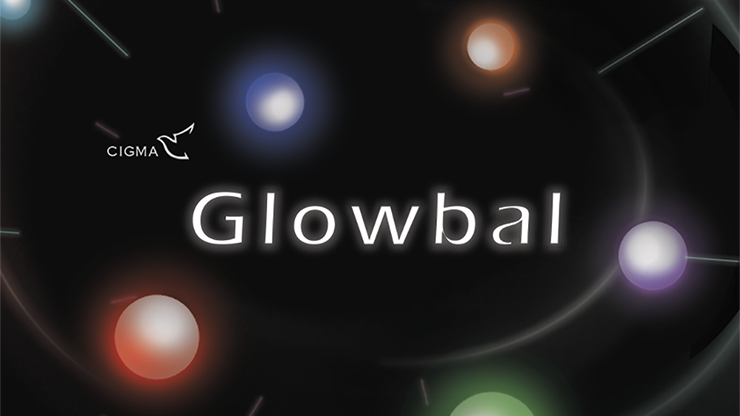 Glowbal 175 inch (Red / 2 hemisphere) single ball - Hsaio Magic