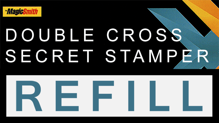 Secret Stamper Part (Refill) for Double Cross by Magic Smith - Trick