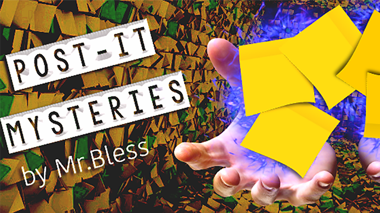 Post-It Mysteries by Mr. Bless - Video DOWNLOAD
