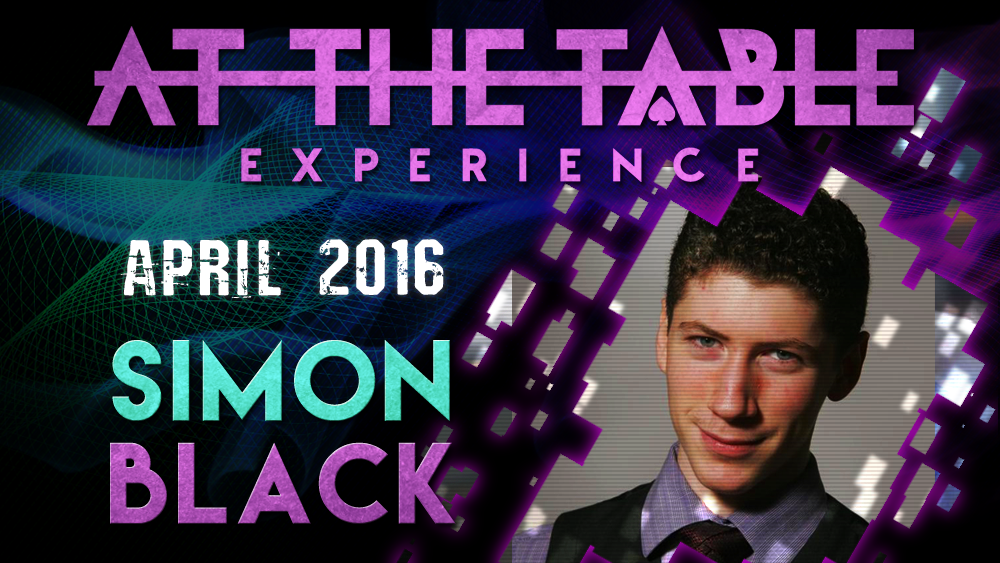 At the Table Live Lecture - Simon Black April 20th