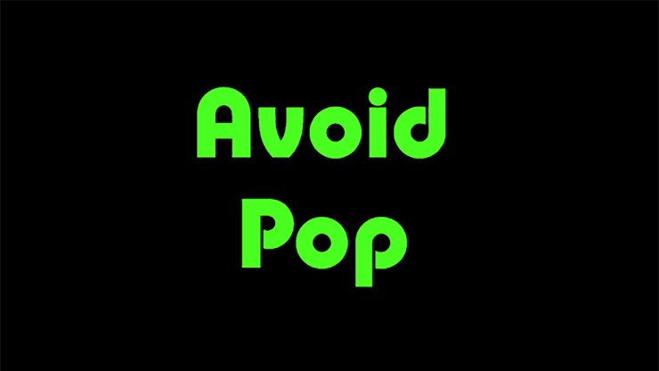 Avoid Pop by Kelvin Trinh video DOWNLOAD