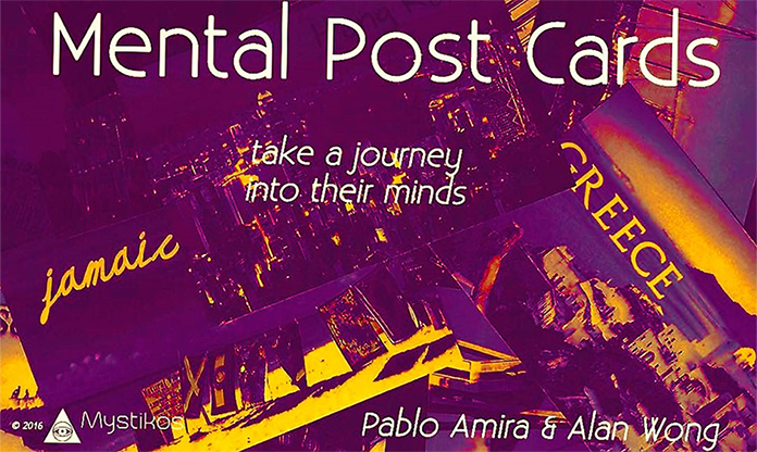 Mental Post Cards by Mystikos Magic & Alan Wong - Trick
