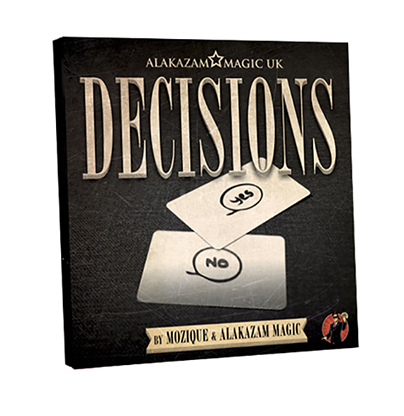 Decisions Yes/No Edition (DVD and Gimmick) by Mozique