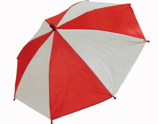 Flash Parasols (Red & White) 4 piece set - MH Production