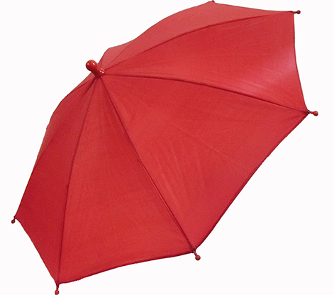Flash Parasols (Red) 4 piece set by MH Production