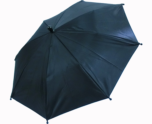 Flash Parasols (Black) 4 piece set - MH Production