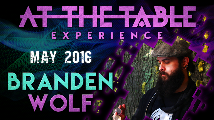 At the Table Live Lecture - Branden Wolf May 4th