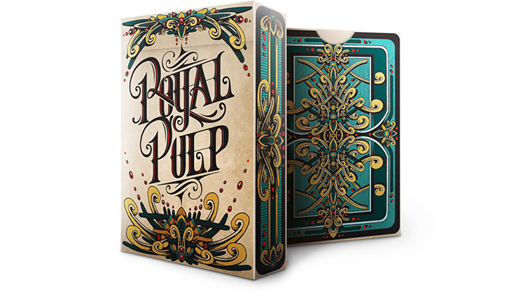 Royal Pulp Deck (Green) by Gamblers Warehouse