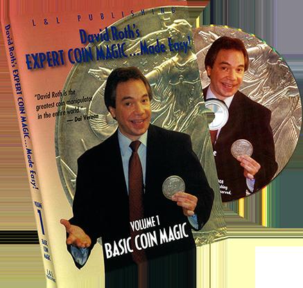 David Roth Basic Coin Magic - DVD