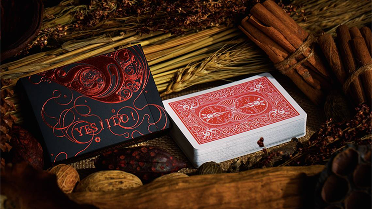 Love Promise of Vow (Rojo) Playing Cards - The Bocopo Playing Card Company