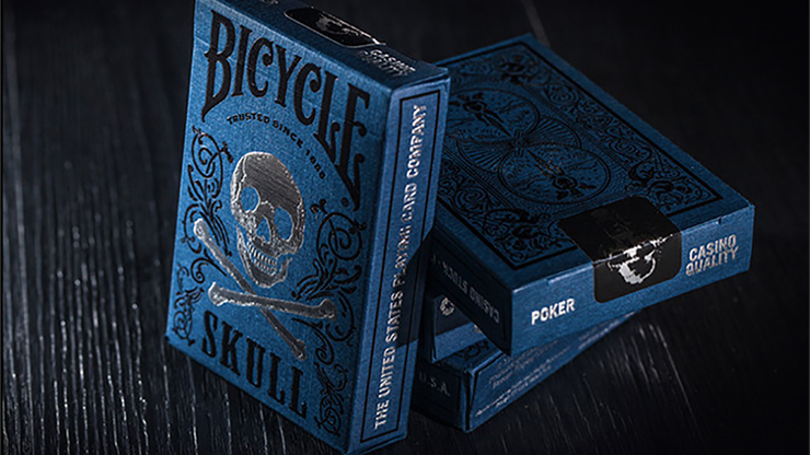 Bicycle Luxury Skull Playing Cards - BOCOPO Playing Card Company