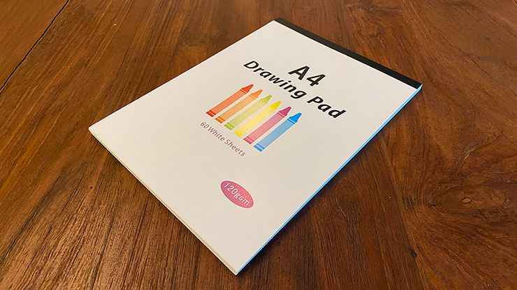No Tear Pad (XL, 8.5 X 11, Tear/No Tear Alternating/ 50) - Alan Wong