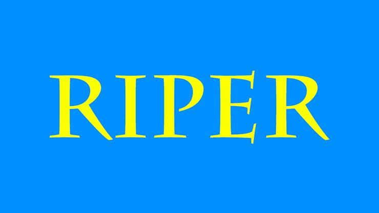Riper by Kelvin Trinh Streaming Video
