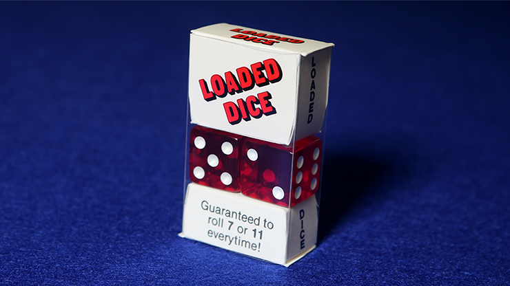 Loaded Dice (Acrylic, Red) - Tricks