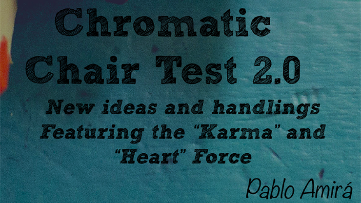 Chromatic Chair Test 2.0 - Pablo Amira ebook DOWNLOAD