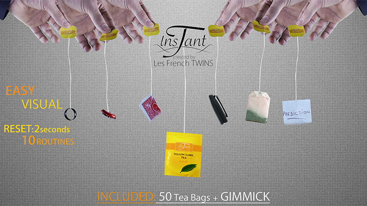 Instant T (Red) by Les French Twins - Trick