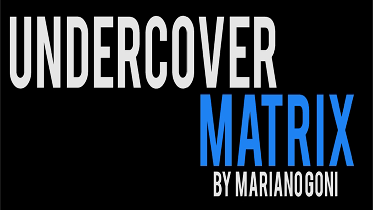 Undercover Matrix by Mariano Goi video DOWNLOAD