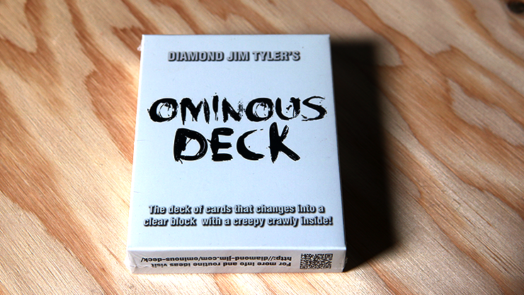 Ominous Deck (Spider) by Diamond Jim Tyler - Trick
