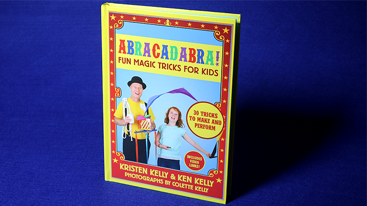 Abracadabra Fun Magic Trucos de Magia For Kids - Ken Kelly - Libro de Magia