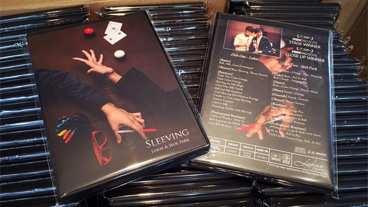 Sleeving (2 DVD Set) Collaboration of Lukas and Seol Park Magic DVD