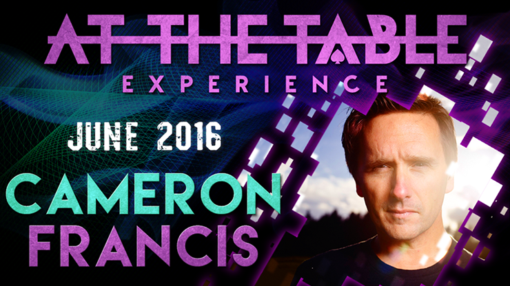 At the Table Live Lecture Cameron Francis June 1st 2016 video DO