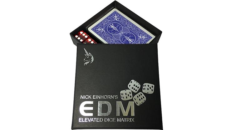 Elevated Dice Matrix (EDM / Blue) by Nicholas Einhorn - Trick